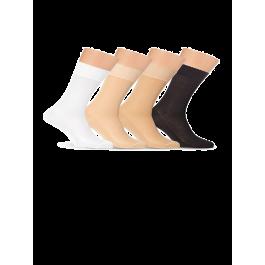 Носки мужские однотонные, в сеточку, мерсеризованный хлопок Lorenz М11