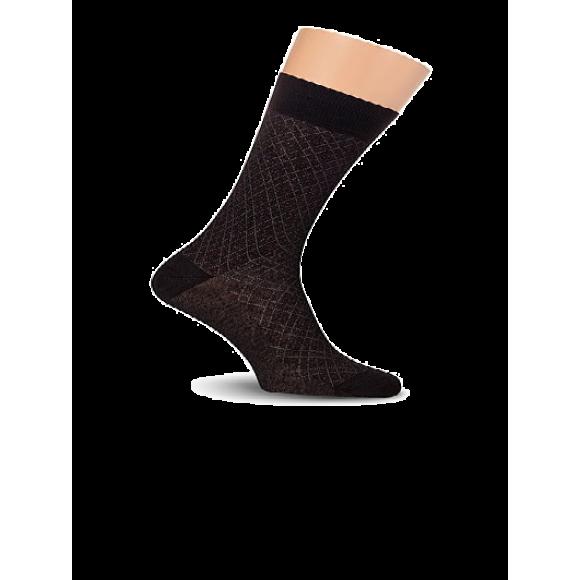 Купить Носки мужские с рисунком, пряжа Super Soft Lorenz Е16