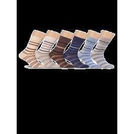 Носки мужские с рисунком, хлопок 80% Lorenz К14