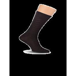 Носки мужские с фактурным рисунком, хлопок 80% Lorenz К9