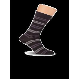 Носки мужские с лайкрой, с рисунком Lorenz К5Л
