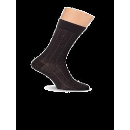 Носки мужские зимние из шерсти австралийского мериноса, с рисунком Lorenz В9