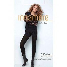 Распродажа колготки женские теплые, с хлопком и шерстью Innamore Feel 160 den