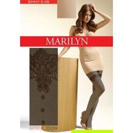 Колготки Marilyn EMMY D09 женские, с имитацией чулок