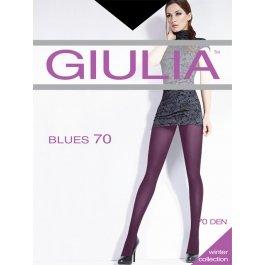 Распродажа колготки женские теплые, из микрофибры Giulia Blues 70 den