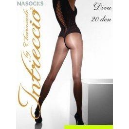 Распродажа колготки женские классические INTRECCIO  20 DEN DIVA 20