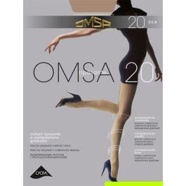 Колготки женские компрессионные OMSA 20