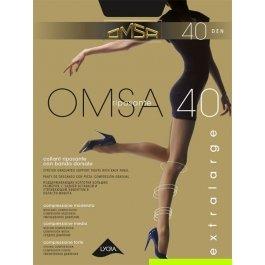 Колготки женские компрессионные OMSA 40 XL
