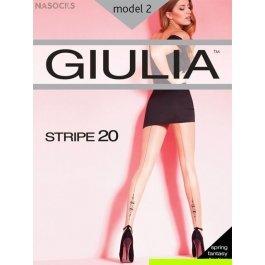 Колготки Giulia STRIPE 2 20 den женские, со стрелкой сзади