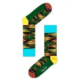 Носки Happy Socks CA01-063, камуфляж