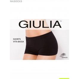 Шортики бесшовные женские, с заниженной талией Giulia SHORTS VITA BASSA