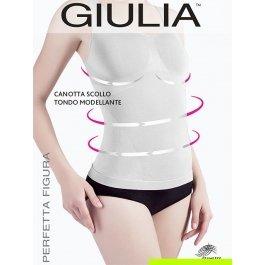 Майка женская моделирующая Giulia CANOTTA SCOLLO TONDO MODELLANTE