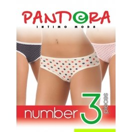 Трусы женские Pandora PD 1051 (3 шт.) slip