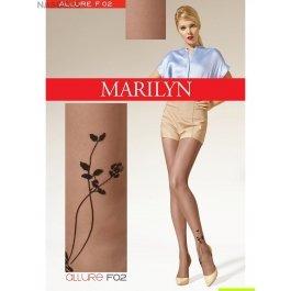 Колготки фантазийные Marilyn ALLURE F02