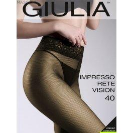 Колготки с эффектом тюля Giulia IMPRESSO RETE VISION