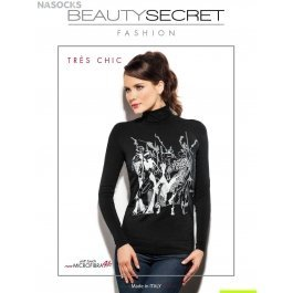 Кофта женская бесшовная Beauty Secret TRES CHIC DOLCEVITA MANICA LUNGA