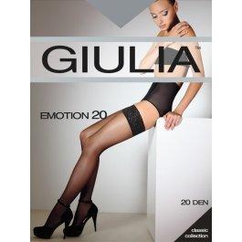 Распродажа чулки женские полуматовые Giulia Emotion 20 den