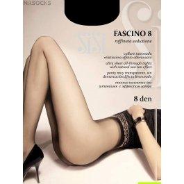 Распродажа колготки женские ультра-тонкие Sisi Fascino 8 den