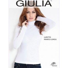 Купить Распродажа водолазка GIULIA LUPETTO MANICA LUNGA женская бесшовная с длинным рукавом и невысокой горловиной