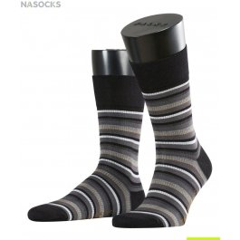 Носки мужские Falke Sensitive Stripe Gros Short Socks 13295