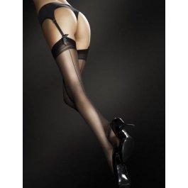 Купить Распродажа чулки женские под пояс со швом-стрелкой Fiore Marlena 20 den