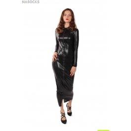 Платье эротическое, длинное, на молнии MENSDREAMS 1056