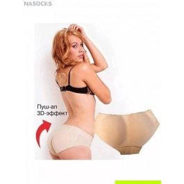 "Трусы ""push-up low"" Dentelle W-001"