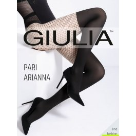 Колготки в сетку с имитацией ботфорт Giulia PARI ARIANNA