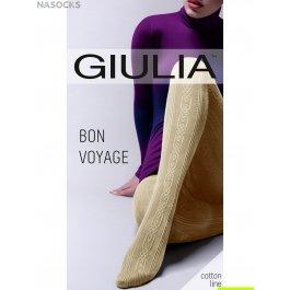 Колготки хлопковые 200 den Giulia BON VOYAGE 01