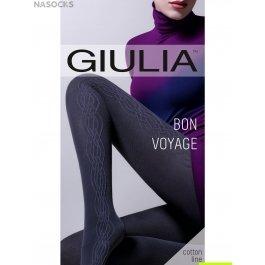 Колготки теплые хлопковые 200 den Giulia BON VOYAGE 03