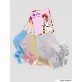 Носки детские хлопковые с кружевом Charmante SAA-1401