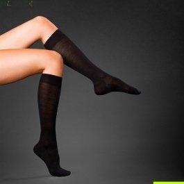 Гольфы No. 3 Finest Camel & Silk Ladies Knee-high Socks Falke 46871