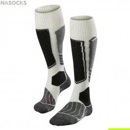 Носки-гольфы лыжные шерсть и шелк SK1 Women Skiing Knee-high Socks Falke 16507