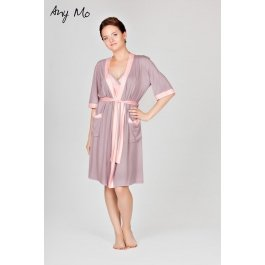 Комплект: халат и сорочка AnyMo AN 5-1703