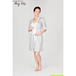 Комплект: халат и сорочка AnyMo AN 5-1703-1