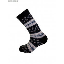 Носки удлиненные шерстяные Guahoo G52-8103CW