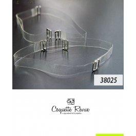 Бретель силикон с крючком COQUETTE REVUE 38025