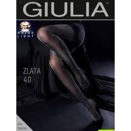 Колготки с люрексом Giulia ZLATA 40