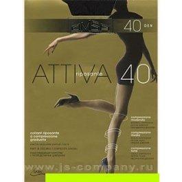 Распродажа колготки женские компрессионные OMSA Attiva 40 den XL