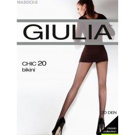 Распродажа колготки женские с элегантной стрелкой Giulia CHIC 20 den