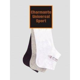 Носки мужские короткие, спортивные, Charmante SCHUS-14134