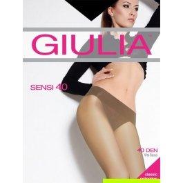 Распродажа колготки женские полупрозрачные, с заниженной талией Giulia Sensi 40 den Vita Bassa