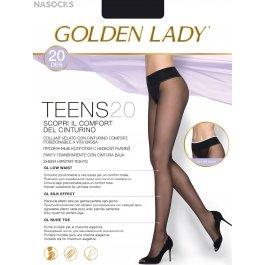 Распродажа колготки женские с заниженной талией Golden Lady Teens 20 den Vita Bassa
