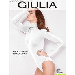 Распродажа водолазка-боди Giulia BODY DOLCEVITA MANICA LUNGA женская, бесшовная, микрофибра