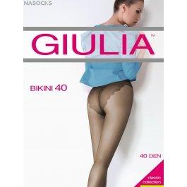 Распродажа колготки женские полупрозрачные, матовые Giulia Bikini 40 den