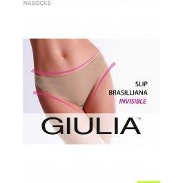 Трусы слип Giulia SLIP BRASILIANA INVISIBLE