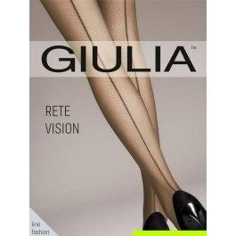 Распродажа колготки в сеточку со швом-стрелкой сзади Giulia RETE VISION CHIC
