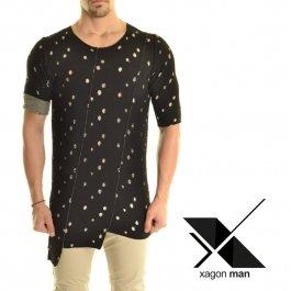 Ассиметричная футболка с дырками Xagon MAN.