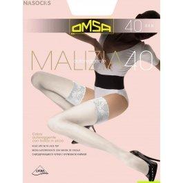 Распродажа чулки женские классические OMSA Malizia 40 den