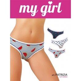 Трусы женские My Girl MG PATRIZIA (3 шт.) slip